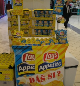 Lay´s Appetitte sampling